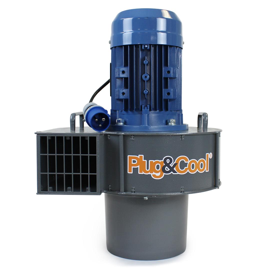 1.5 kw aluminium grain fan