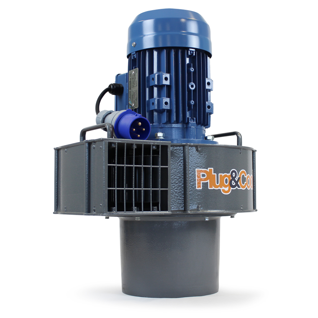 2.2 kw aluminium grain fan v2