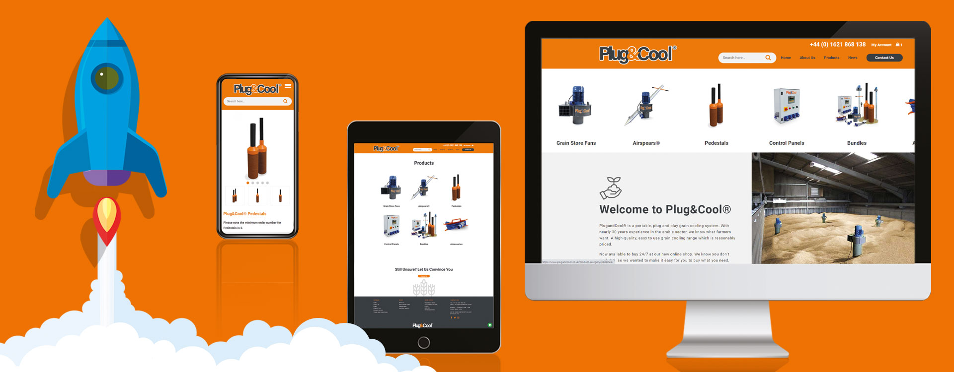 Plug&Cool new website